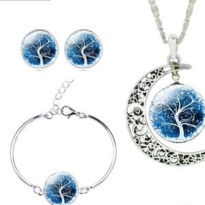 Jewelry - TREE OF LIFE JEWELSET, necklace,bracelet, earring